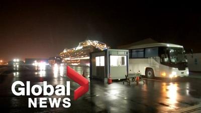 Mỹ sơ tán gần 400 công dân khỏi du thuyền Diamond Princess trong đêm