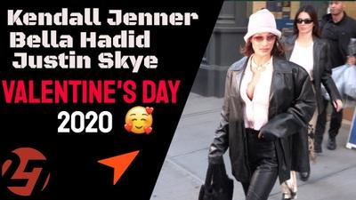 Kendall Jenner sành điệu cùng Bella Hadid ra phố