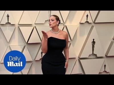 Ashley Graham dự lễ trao giải Oscar