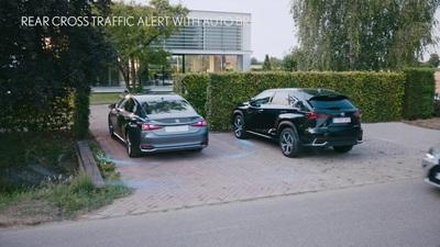 Hệ thống an toàn mới nhất LSS+2 trên các mẫu xe Lexus ES phiên bản 2020