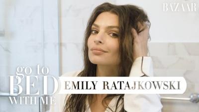 Emily Ratajkowski hướng dẫn chăm sóc da