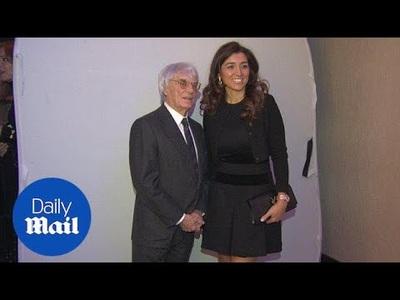 Bernie Ecclestone và Fabiana Flosi dự sự kiện