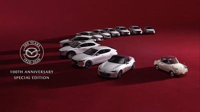 Mazda giới thiệu bộ sưu tập xe kỷ niệm 100 năm thành lập