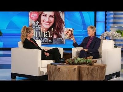 Julia Roberts xinh đẹp trên truyền hình