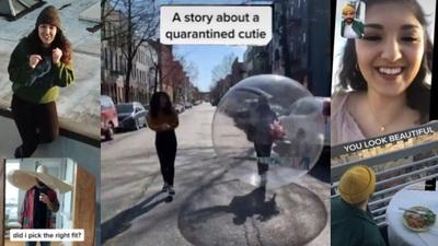 Chàng trai dùng drone, video call, để chứng minh hẹn hò trong mùa dịch là điều khả thi
