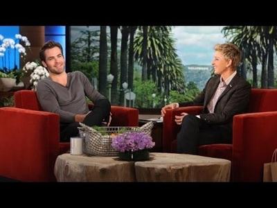 Chris Pine lịch lãm trên truyền hình