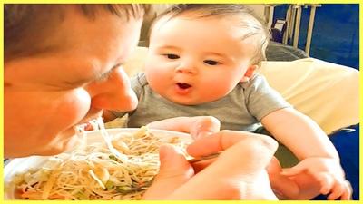Những đứa trẻ háu ăn