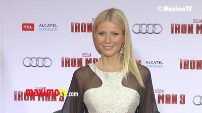 Gwyneth Paltrow diện váy táo bạo