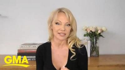 Pamela Anderson trả lời phỏng vấn