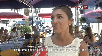 Bernie Ecclestone và Fabiana Flosi trả lời phỏng vấn