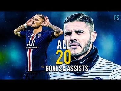 20 bàn thắng của Icardi cho PSG ở mùa giải vừa qua