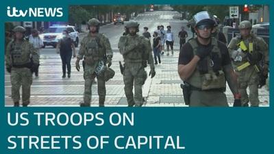Mỹ triển khai binh sĩ khắp Washington dập tắt bạo loạn