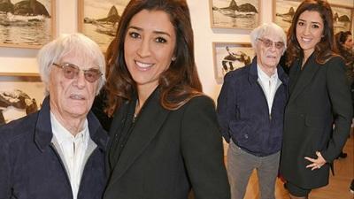 Bernie Ecclestone đưa vợ dự sự kiện