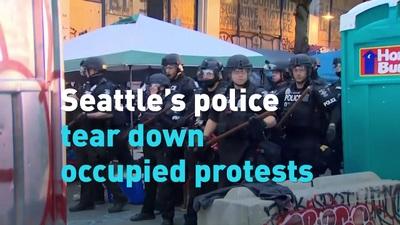 Cảnh sát Mỹ giải tỏa khu tự trị Seattle