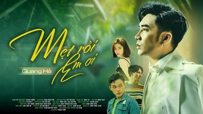 """MV """"Mệt rồi em ơi"""" của Quang Hà cán mốc """"triệu view"""" sau 10 tiếng"""
