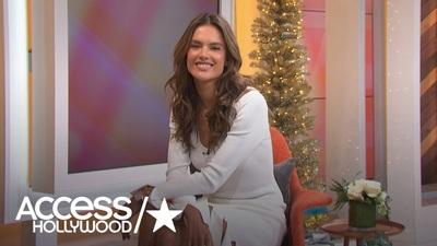 Alessandra Ambrosio xinh đẹp trên truyền hình