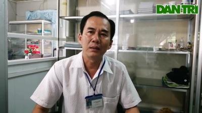 Chủ tịch Hội Chữ Thập đỏ Vĩnh Lợi nói về nhà Nhân ái của báo Dân trí.