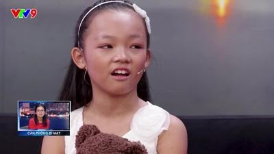 Ốc Thanh Vân bật khóc khi nghe vũ công nhí kể chuyện bị mẹ đánh, ép học vũ đạo.