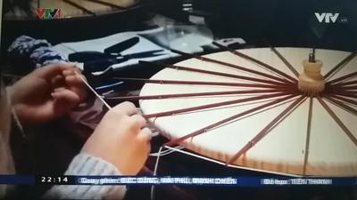 Nghề làm ô truyền thống mai một tại Nhật Bản