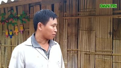 Bí Thư thôn Khuổi Khí Bàn Chàn Pyao, mong muốn các em nhỏ được học trong phòng học kín đáo trong mùa đông này.