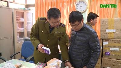 Thu giữ lô thuốc tân dược trị giá gần 2 tỷ đồng ở Hà Nội