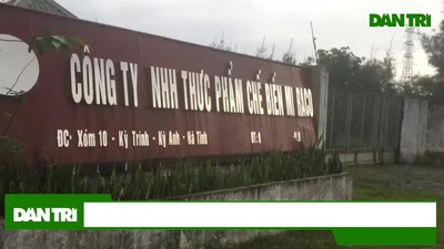 Nhà máy chế biến súc sản Hà Tĩnh
