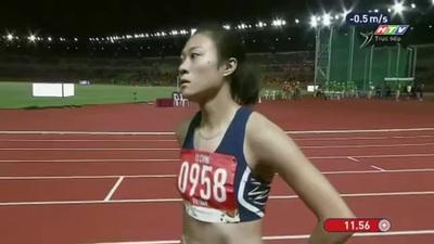 Tú Chinh xuất sắc giành HCV chạy 100m nữ