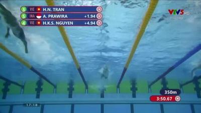 Trần Hưng Nguyên giành HCV bơi 400m hỗn hợp nam