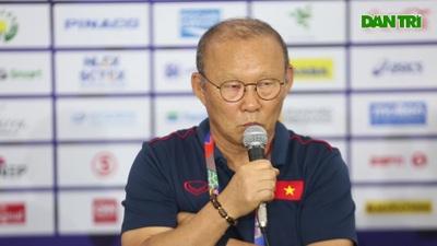 """HLV Park Hang Seo: """"U22 Indonesia đồng đều nhưng vẫn có điểm yếu"""""""