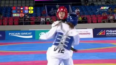 Trần Thị Ánh Tuyết giành HCV Taekwondo hạng 53kg