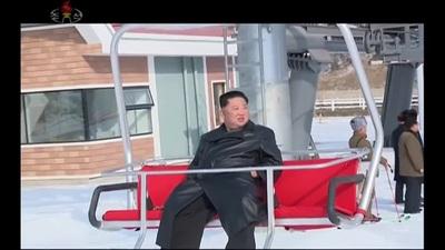 Ông Kim Jong-un dự khánh thành khu nghỉ dưỡng cao cấp