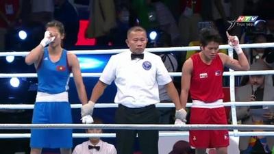 Nguyễn Thị Tâm giành HCV hạng ruồi, boxing