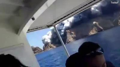 Du khách tử nạn, bị thương và mất tích khi núi lửa bất ngờ phun trào