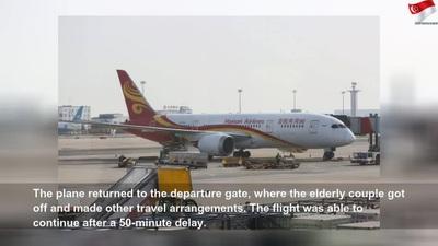 Máy bay đang lăn bánh trên đường băng, khách Trung Quốc năn nỉ xin xuống