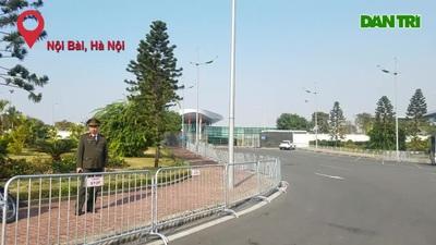 Tăng cường an ninh tại Nội Bài chuẩn bị đón đội U22 và tuyển nữ Việt Nam