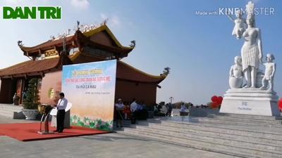 Khánh thành Đền thờ Lạc Long Quân tại Mũi Cà Mau.