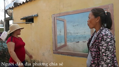 Người dân tiếc nuối trước sự xuống cấp của Làng bích họa Tam Thanh
