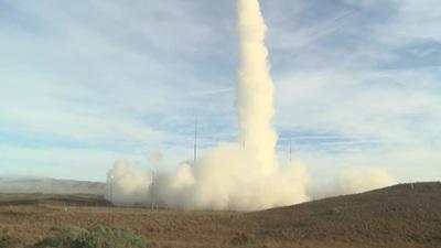 Video Mỹ thử tên lửa đạn đạo từng bị cấm bởi hiệp ước hạt nhân