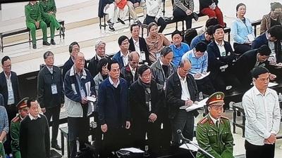 """Tòa sơ thẩm tuyên án hai cựu Chủ tịch Đà Nẵng và Vũ """"nhôm"""""""