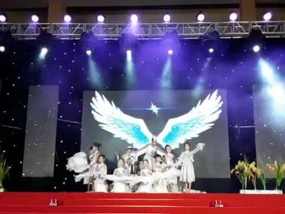 Tiết mục múa Cánh cò quê hương của thí sinh giành giải Nhất - Bùi Thiên An