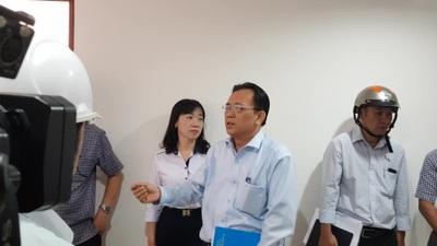 Phó Chủ tịch Khánh Hòa thị sát dự án Hoàng Quân trước ngày giao nhà