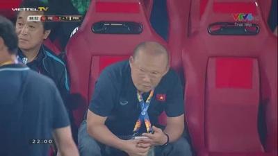 Ri Chung-Gyu nâng tỉ số lên 2-1 cho U23 Triều Tiên ở phút 90