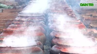 """Làng """"Chí Phèo"""" nổi lửa kho cá phục vụ Tết"""