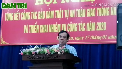 Chủ tịch tỉnh Bạc Liêu nói về xử lý cán bộ theo Nghị định 100