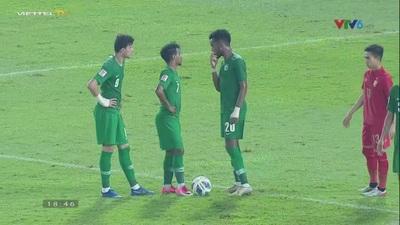 U23 Thái Lan 0-1 U23  Saudi Arabia: VAR loại đội chủ nhà
