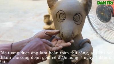 Những chú chuột từ làng gốm Thanh Hà – Hội An