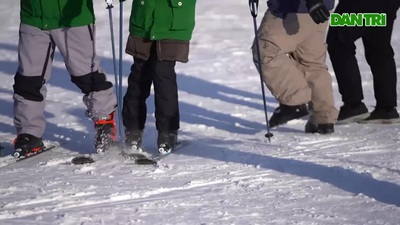 Đi học trượt tuyết Pyongchang