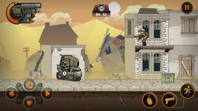 Metal Soldier 2 - Game bắn súng với đồ họa ngộ nghĩnh và cách chơi thú vị