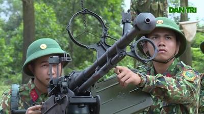 Xuân về trên trận địa phòng không của Trung đoàn 841, Bộ CHQS Hà Tĩnh.