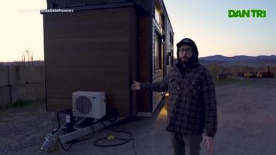 Ngôi nhà di động siêu nhỏ chống được cái lạnh âm độ nhưng lại cực mát vào mùa hè